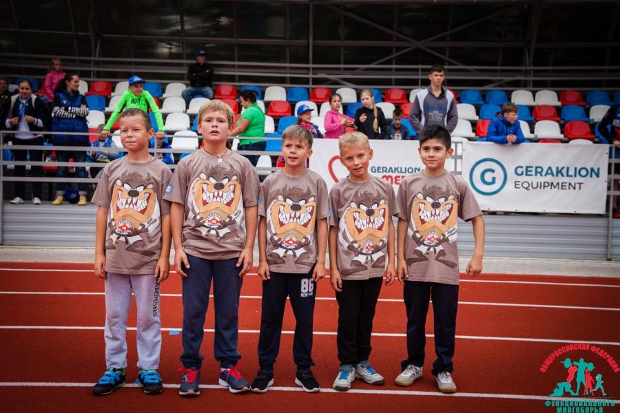 Новые фотографии с турнира по функциональному многоборью среди детей